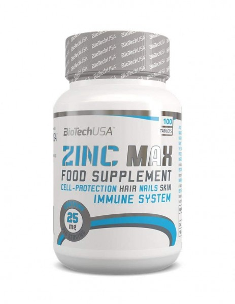 BioTech USA Zink Max 100 Tabletten