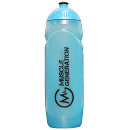 Musclegeneration Trinkflasche blau 750ml
