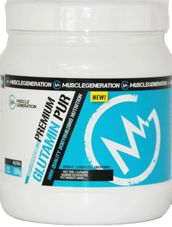 Musclegeneration Glutamin Pur 500g neutral