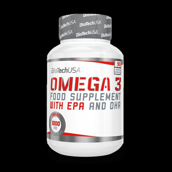 BioTech USA Omega3 90 Kapseln