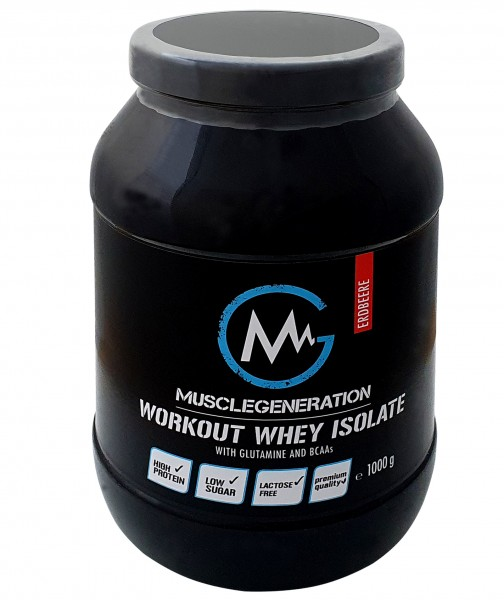 Musclegeneration Workout Whey Isolate 1000g