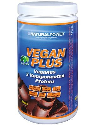 Natural Power Vegan Protein Plus 500g