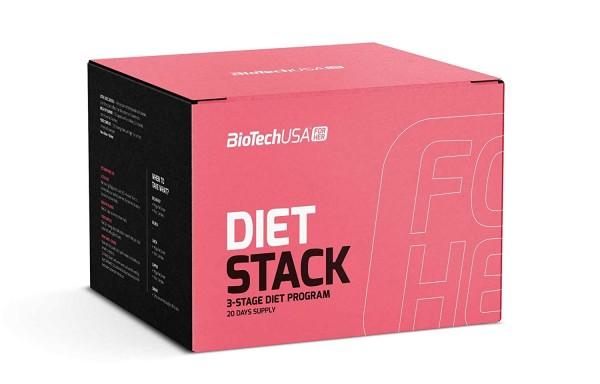 BiotechUSA Diet Stack 3-Phasen-Diätprogramm Set