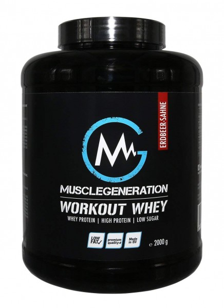 Musclegeneration Workout Whey 2000g