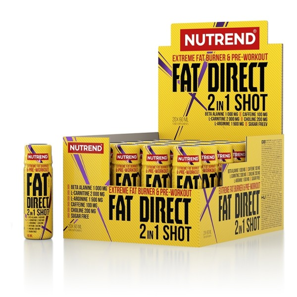 Nutrend Fat Direct 2n1 Shot 20 x 60ml