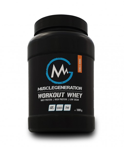 Musclegeneration Workout Whey 1000g MHD: 31.12.2020