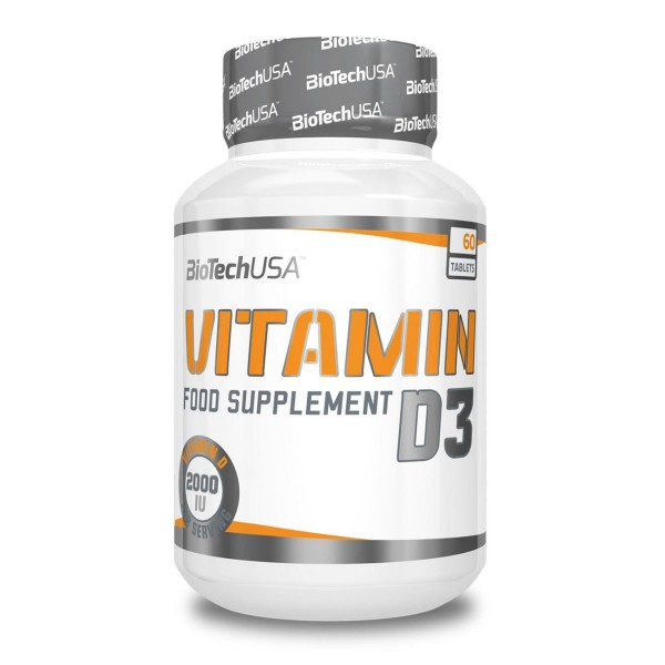 BioTech USA Vitamin D3 50mcg 60 Tabletten