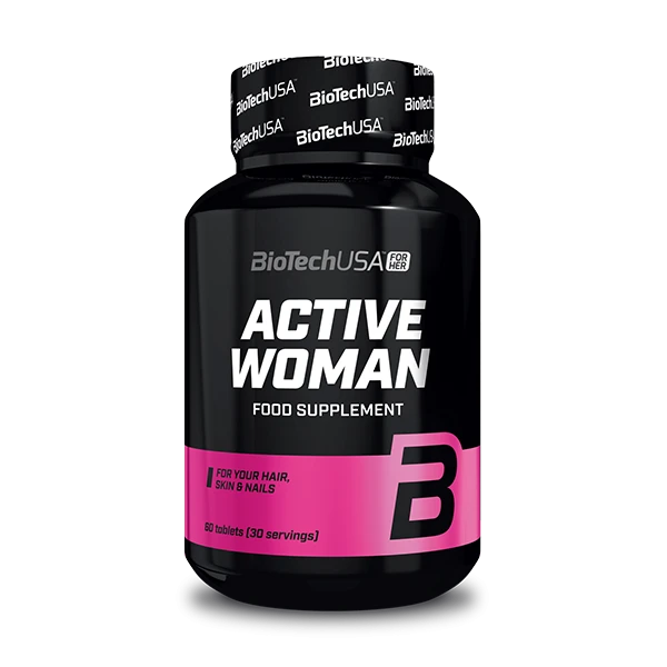 BioTech USA Active Woman 60 Tabletten