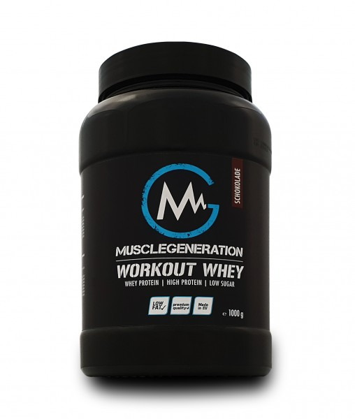 Musclegeneration Workout Whey 1000g