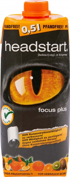 Headstart Focus Plus 500ml