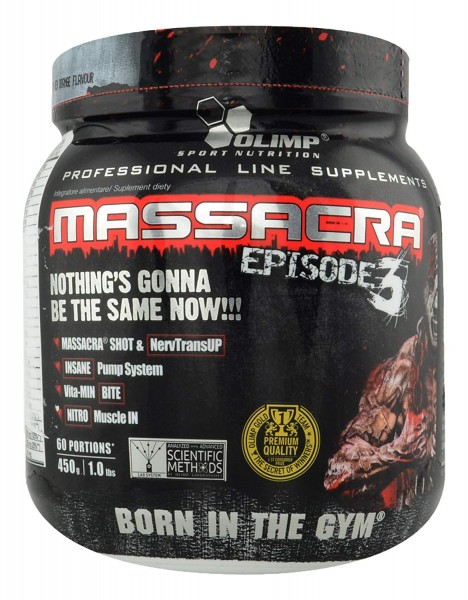Olimp Sport Nutrition Massacra Episode 3 450g