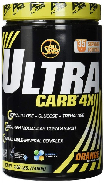 All Stars Ultra Carb 4X Orange 1400g